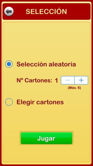 Cartones de Bingo Screenshot