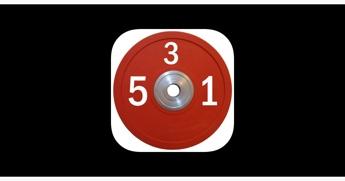 5/3/1 Workout logger - 531 on the App Store