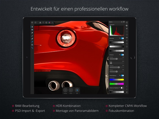 552x414bb Affinity Photo - Rabatt für iPad, Mac & Windows Apple iOS Software Technology