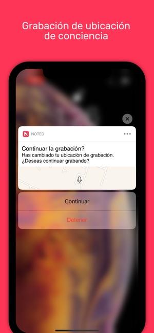 Noted․ Screenshot