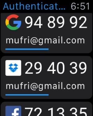 Authenticator Plus Screenshot