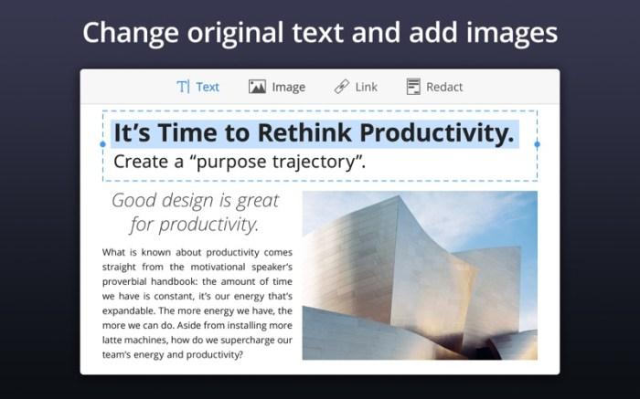 PDF Expert - Edit and Sign PDF Screenshot 3 134ng3n