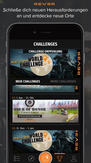 REVER: Motorrad Routen & GPS Screenshot