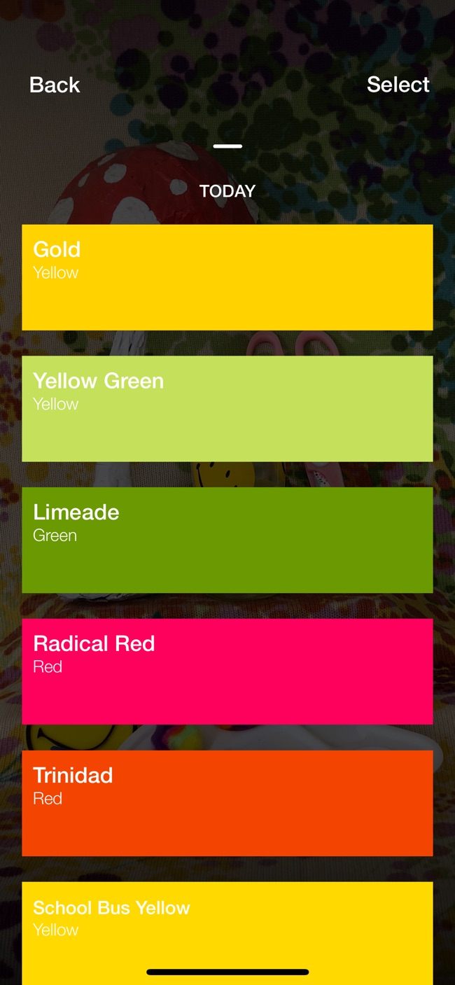 Swatches: Live Color Picker Screenshot