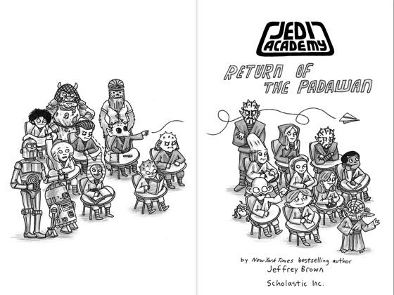 Return of the Padawan (Star Wars: Jedi Academy #2) on
