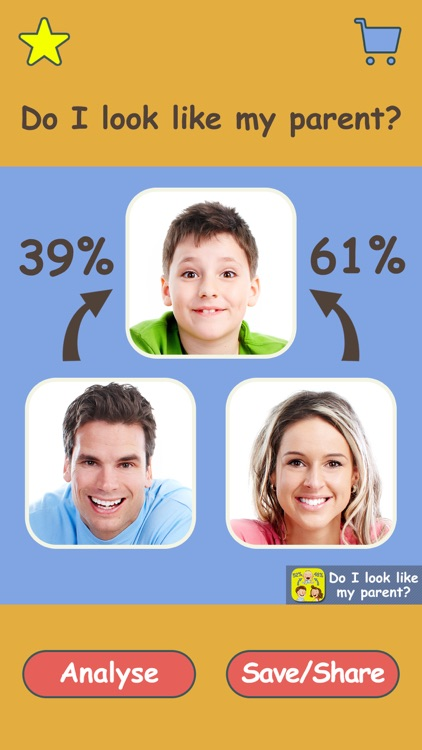 Do I Look Like My Parents Pro - Guess who are the most resemble to you. mom or dad? by Zhongzhen Lu