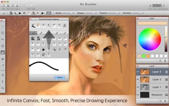 Mybrushes-Sketch,Paint,Design Screenshot 01 1fvzig4y