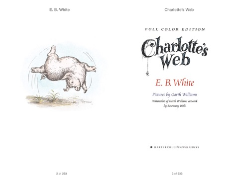 Charlotte's Web by E. B. White, Garth Williams & Rosemary