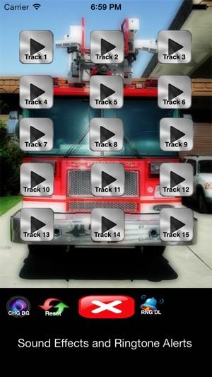 Not - Feuerwehr und Krankenwagen Soundeffekte , Ringtones , Alerts Screenshot