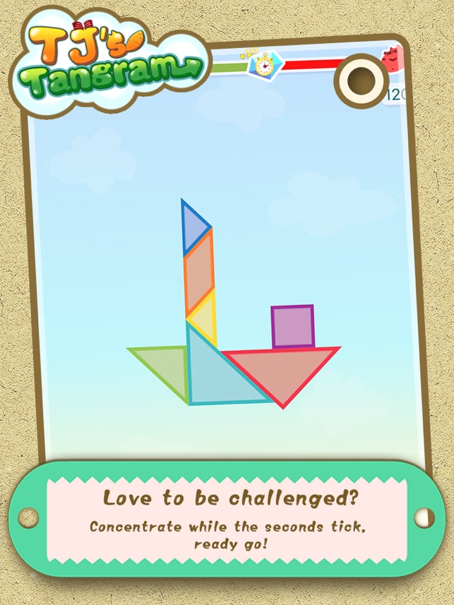 ‎TJ's Tangram Screenshot