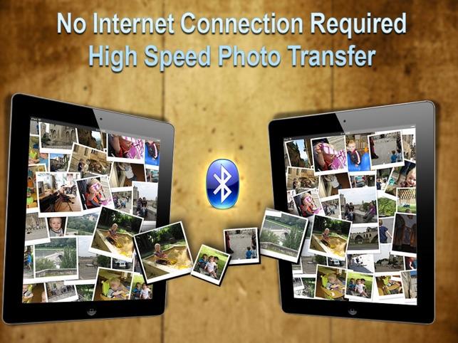 Wireless Photo Transfer - WiFi & Bluetooth Photo Share Screenshot