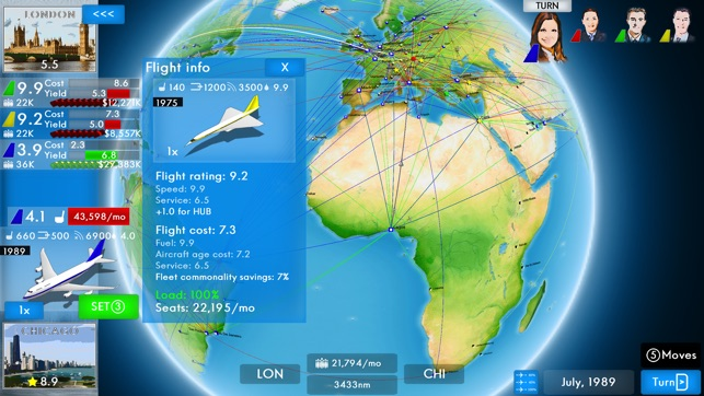 ‎Airline Director 2 - Tycoon Game Screenshot