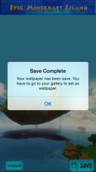 minecraft epic island ipad iphone