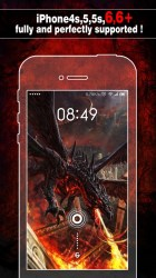 Dragon Wallpapers Backgrounds Themes Home Screen Maker with Cool HD Dragon Pics for iOS 8 iPhone 6 Free Download App for iPhone STEPrimo com