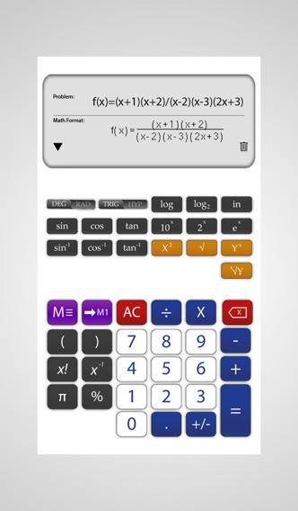 Scientific Calculator math - آلة حاسبة رياضيات علم الجبر هندسة رياضية دالة جذر تربيعية