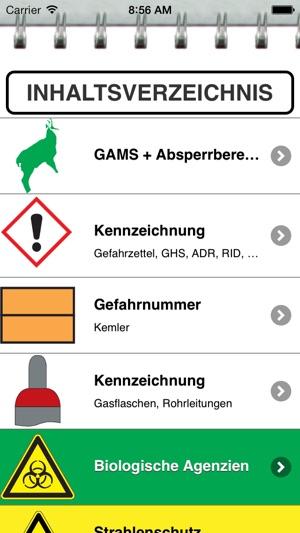 Gefahrgut-Blattler Screenshot