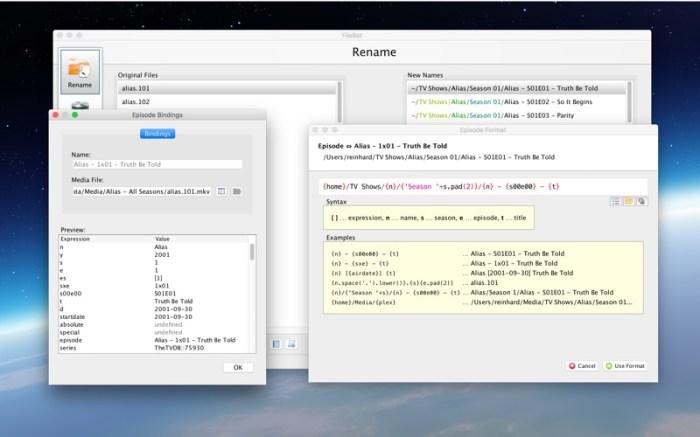 FileBot Screenshot 03 1hjqnian