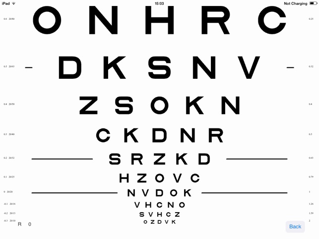 VisionC (Visual Acuity & Contrast Sensitivity Chart) im