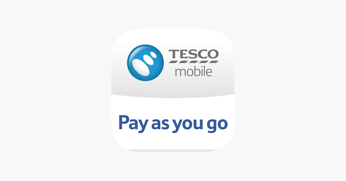 Tesco Mobile Pay As You Go on the App Store