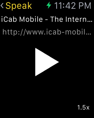 iCab Mobile (Web Browser) Screenshot