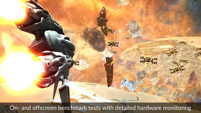 3DMark Ice Storm Benchmark Screenshot