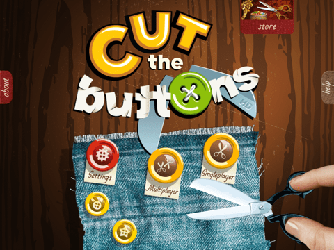 Screenshot do app Cut the Buttons HD