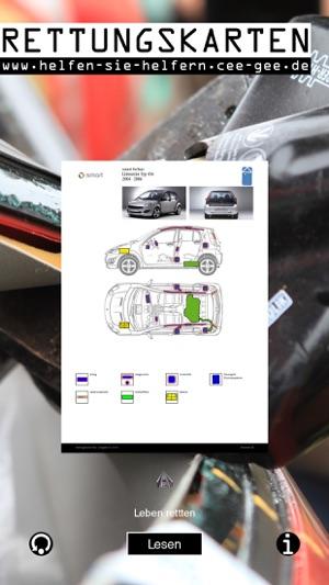 Rettungskarten - die digitalen Helfer für Helfer Screenshot