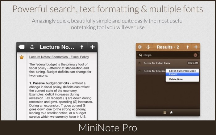 MiniNote Pro Screenshot 3 16seosyn