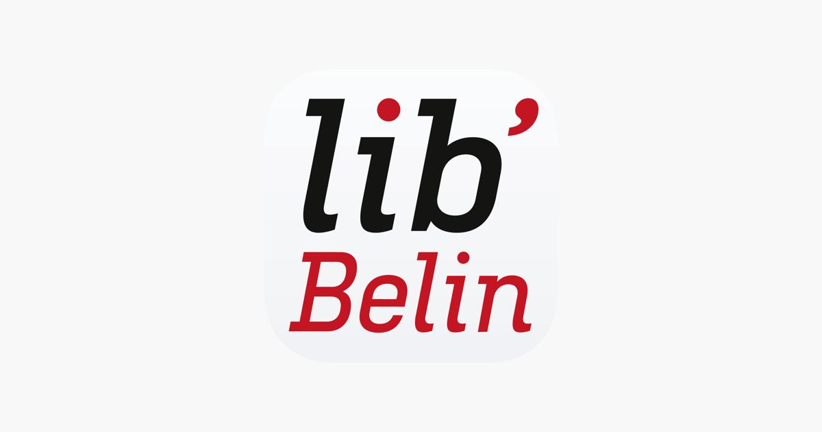 Lib' Belin dans l'App Store