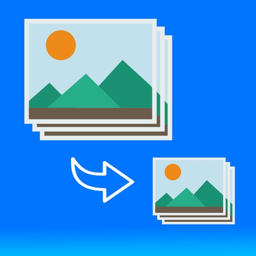 画像圧縮 一括でまとめてリサイズ&圧縮 ( 簡単、高速、シンプル )