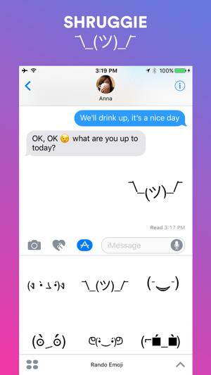 Rando Emoji - Animated text kaomoji Screenshot