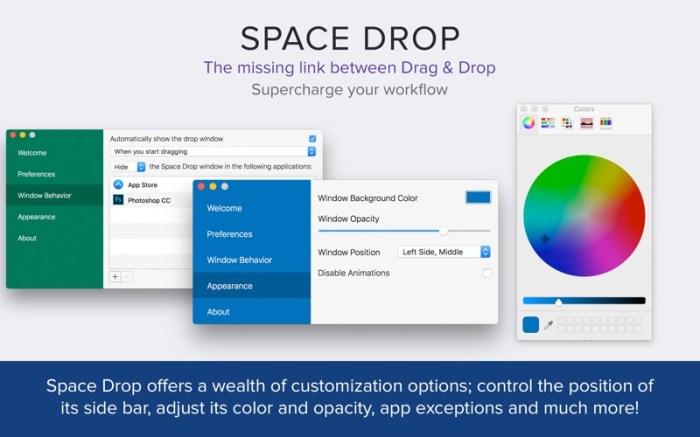 Space Drop: Better Drag & Drop Screenshot 03 1377vvn