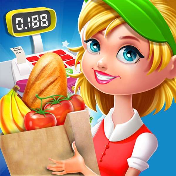 Supermarket Grocery Girl - Shopping Fun Kids Games