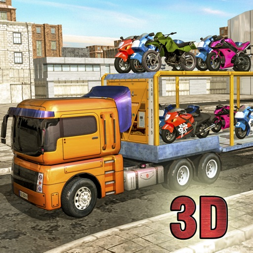 Bike Transport Heavy Truck Driver by gaurang sapovadia
