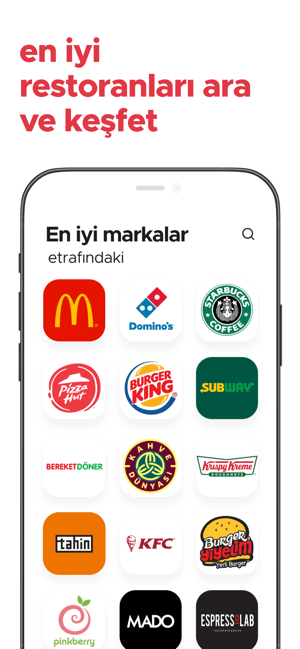 zomato - paket servis, yemek Screenshot