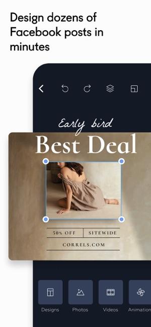 Crello: Post & Story Design Screenshot