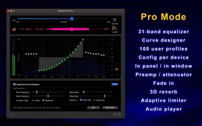 SpeakerAmp:Booster & Equalizer Screenshot 02 cf188mn