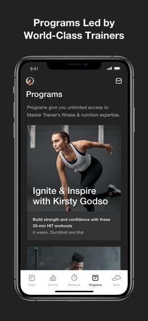 Nike Training Club Screenshot