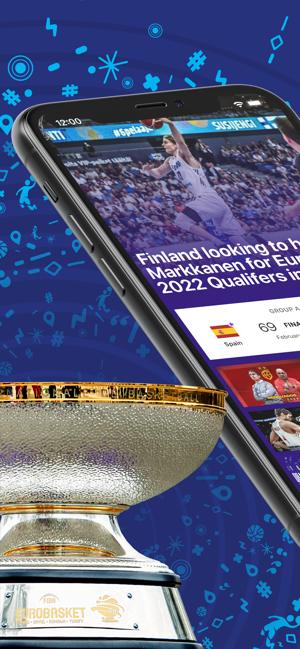 FIBA EuroBasket Qualifiers Screenshot