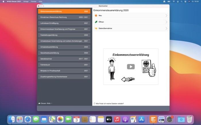 WISO Steuer 2021 Screenshot 01 1nxjton