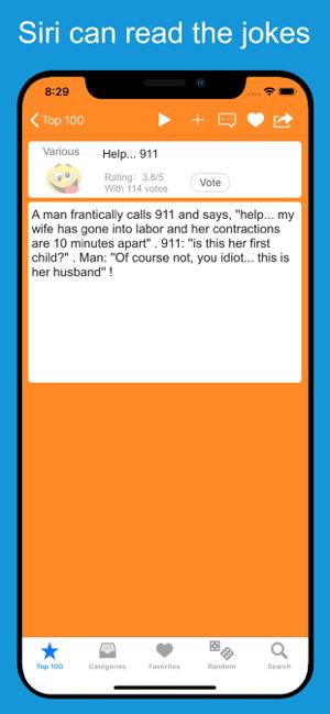 Funny Jokes, Stories & Puns Screenshot