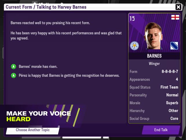 Football Manager 2021 Mobile Screenshot