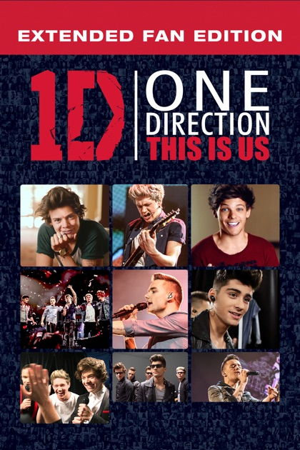 One Direction This Is Us Extended Fan Edition on iTunes