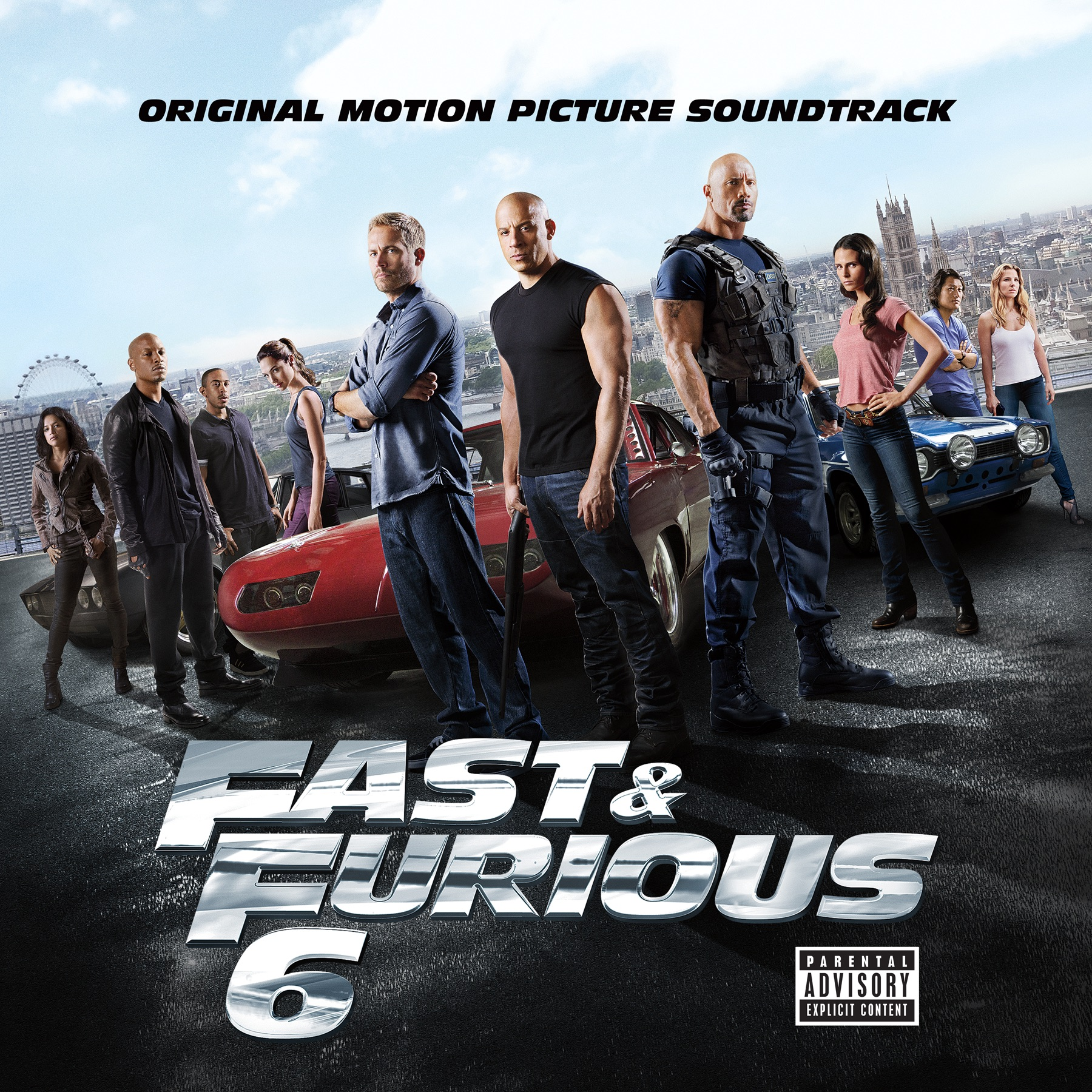 Fast  Furious 6 Original Motion Picture Soundtrack by Various Artists on iTunes