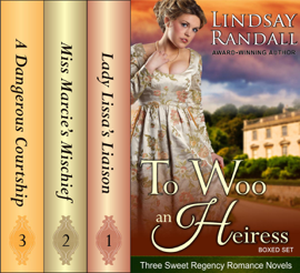 To Woo an Heiress Boxed Set Download