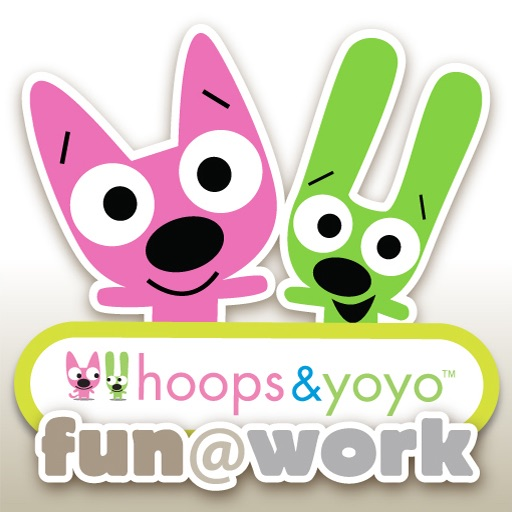 hoops&yoyo fun@work!