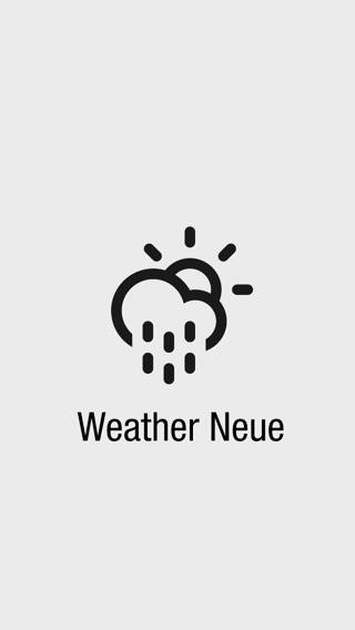 Weather Neue sull'App Store