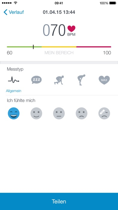 Runtastic Heart Rate PRO Screenshot