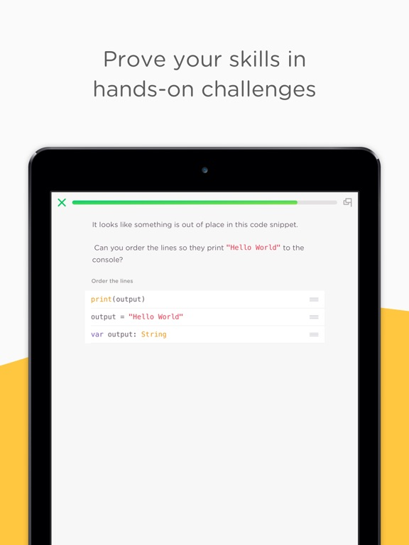 Mimo: Learn to code on the go Screenshot