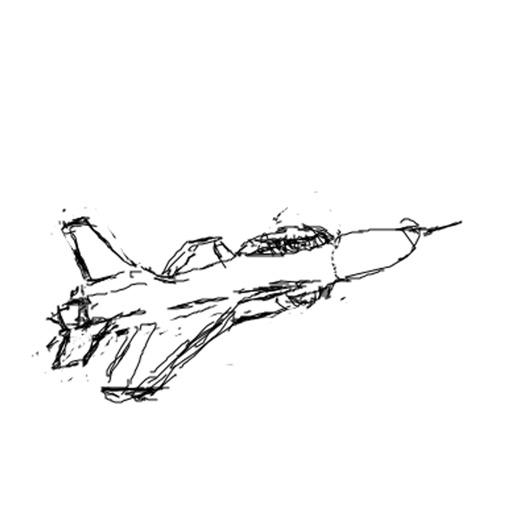Jet Fighter Doodle par Fung Yi Chan